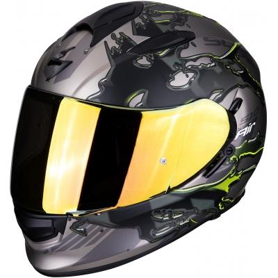 SCORPION přilba EXO-510 AIR Likid titanium/neon yellow