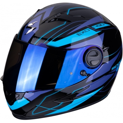 SCORPION prilba EXO-490 Nova black/blue