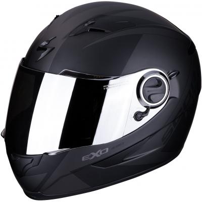 SCORPION přilba EXO-490 Pace matt black/silver