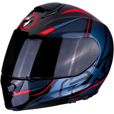 SCORPION přilba EXO-3000 AIR Creed black/red