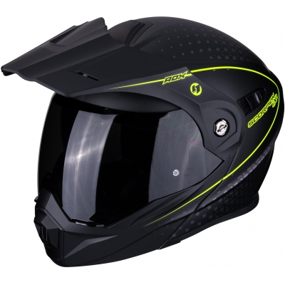 SCORPION prilba ADX-1 Horizon matt black/neon yellow