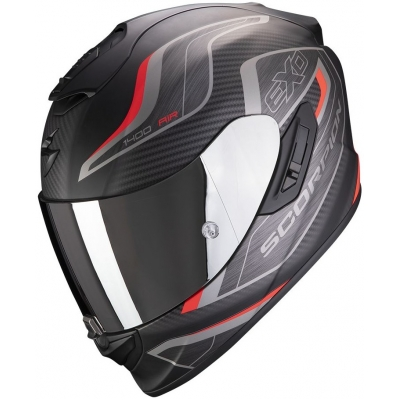 SCORPION přilba EXO-1400 AIR Attune matt black/red