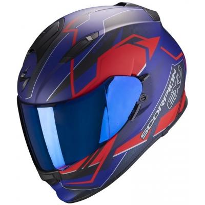 SCORPION přilba EXO-510 AIR Balt matt blue/red