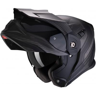 SCORPION přilba ADX-1 Tucson matt black/carbon black