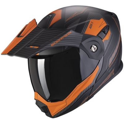 SCORPION přilba ADX-1 Tucson matt black/orange