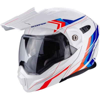 SCORPION přilba ADX-1 Anima white/red/blue