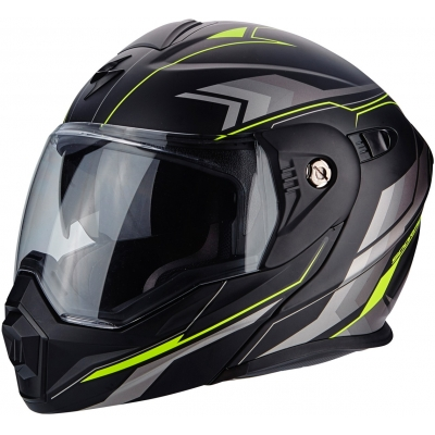 SCORPION přilba ADX-1 Anima matt black/neon yellow