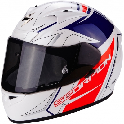SCORPION přilba EXO-710 AIR Line white/red/blue