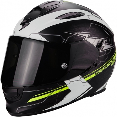 SCORPION přilba EXO-510 AIR Cross matt black/white/neon yellow