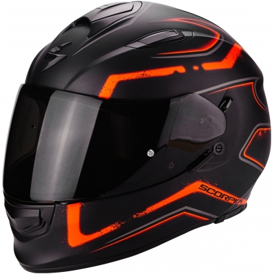 SCORPION přilba EXO-510 AIR Radium matt black/orange
