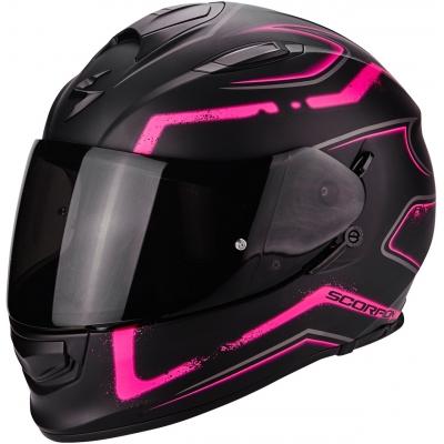 SCORPION prilba EXO-510 AIR Radium matt black / pink