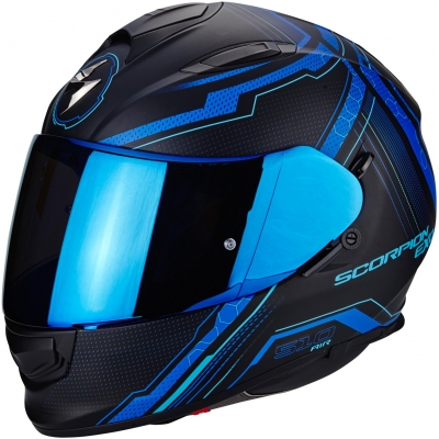 SCORPION prilba EXO-510 AIR Sync matt black / blue