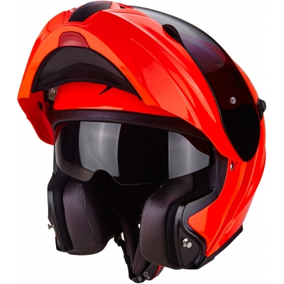 SCORPION přilba EXO-920 Solid neon red
