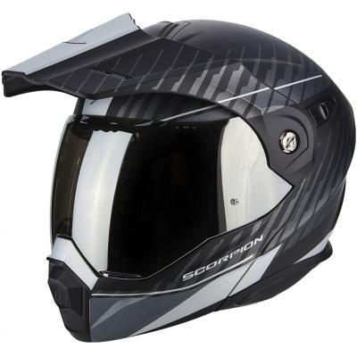 SCORPION přilba ADX-1 Dual matt black/silver