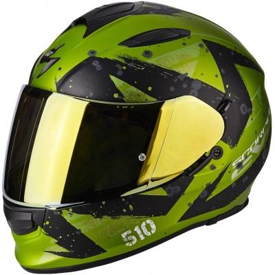 SCORPION přilba EXO-510 AIR Marcus matt green/black