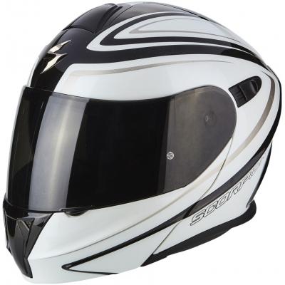 SCORPION prilba EXO-920 Ritzy black/white