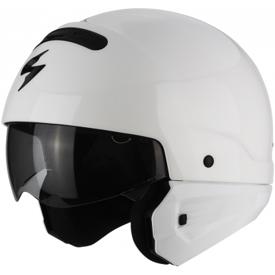 SCORPION přilba EXO-COMBAT Solid white