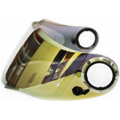 SCORPION plexi SPEEDSHIFT 3D KDF-11M Pinlock gold mirror