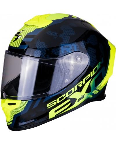 SCORPION prilba EXO-R1 AIR Ogi black / neon yellow