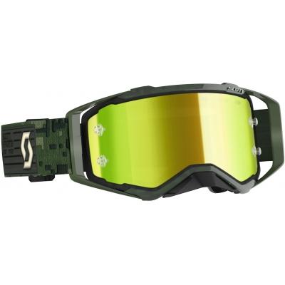 SCOTT brýle PROSPECT kaki green/yellow chrome works