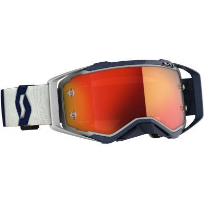 SCOTT brýle PROSPECT CH grey/dark blue/orange chrome works