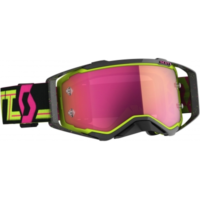 SCOTT brýle PROSPECT CH black/yellow/pink chrome works