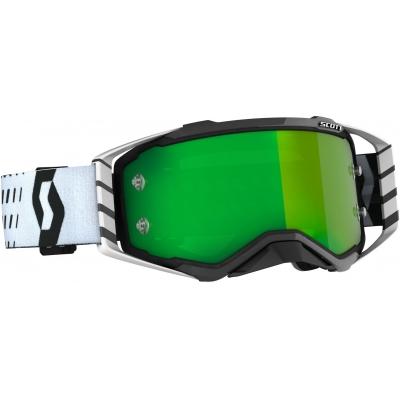 SCOTT brýle PROSPECT CH black/white/green chrome works