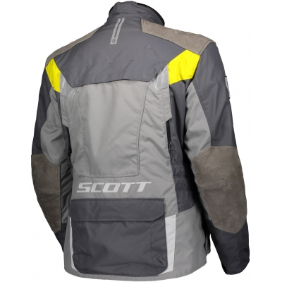 SCOTT bunda DUALRAID DRYO grey / yellow