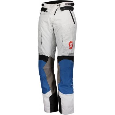 SCOTT kalhoty W'S DUALRAID DRYO dámské sapphire blue/lunar grey