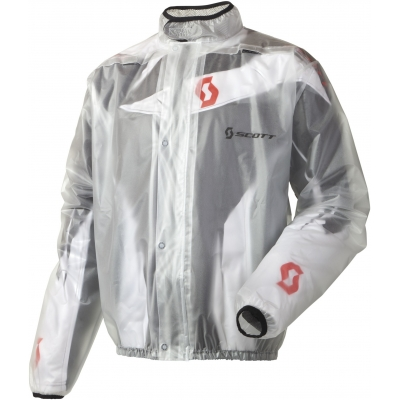SCOTT bunda nepromok RAIN COAT clear