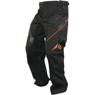 SCOTT kalhoty ADVENTURE black/orange