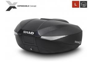 SHAD rozšiřitelný vrchní kufr SH58X Premium carbon