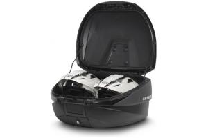 SHAD rozšiřitelný vrchní kufr SH59X Premium Smart aluminium