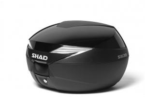 SHAD kryt kufru SH39 black metal