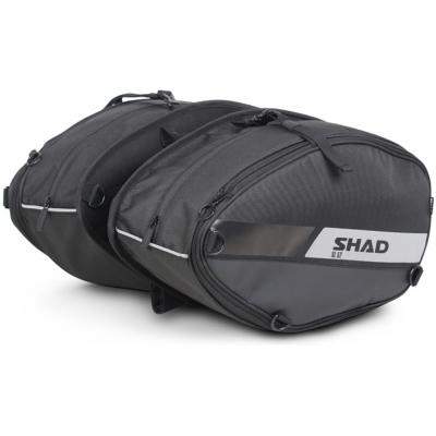 SHAD boční tašky SOFT SL52 black