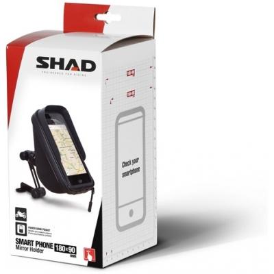 SHAD vodotěsné pouzdro X0SG75M na zpětné zrcátko pro velikost displeje do 6,6