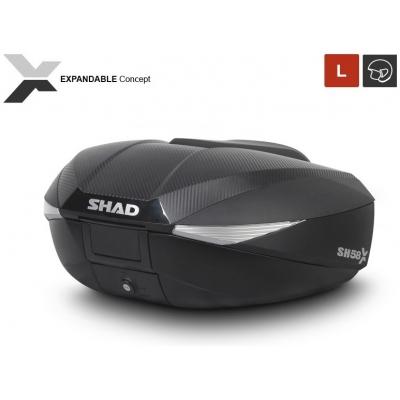 SHAD rozšíriteľný vrchnej kufor SH58X Premium carbon