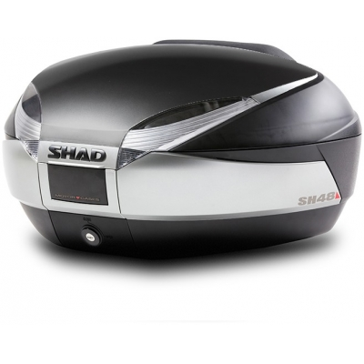 SHAD vrchní kufr SH48 Premium Smart new titanium/black