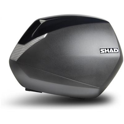 SHAD kryt kufru SH36 black metal