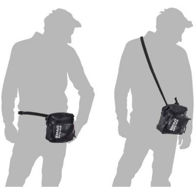 SHAD vodeodolná taška SW05 black