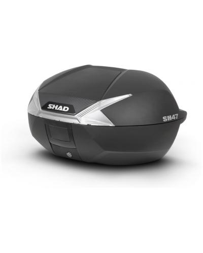 SHAD vrchní kufr SH47 black/white