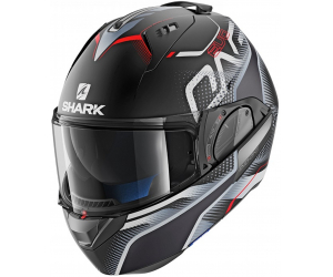 SHARK přilba EVO-ONE 2 Keenser matt black/silver/red