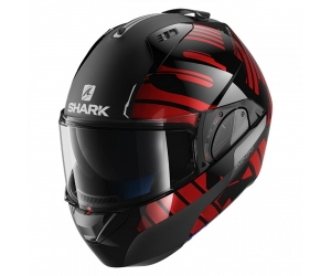 SHARK přilba EVO-ONE 2 Lithion black/chrom/red