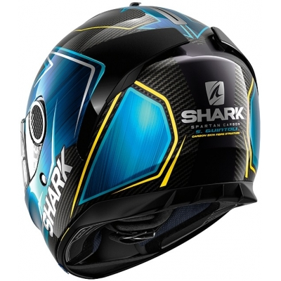 SHARK přilba SPARTAN Carbon Replica Guintoli carbon/blue/yellow