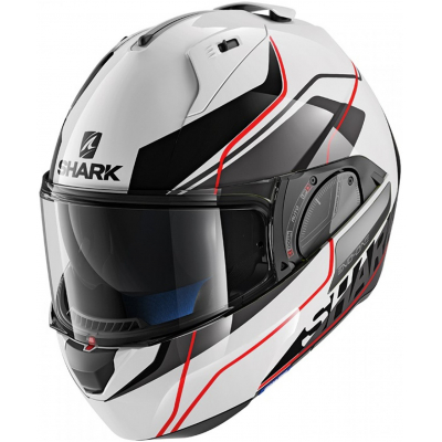 SHARK přilba EVO-ONE 2 Krono white/black/red