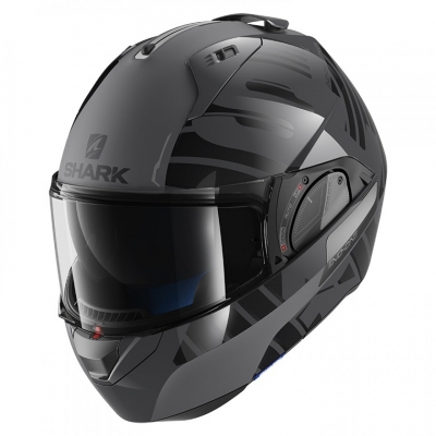 SHARK prilba EVO-ONE 2 Líthion anthracite / black