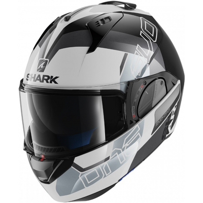 SHARK přilba EVO-ONE 2 Slasher white/black/silver