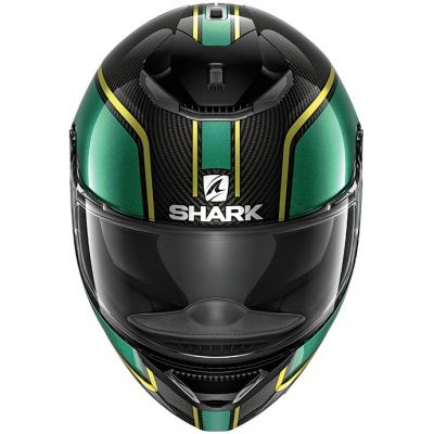 SHARK přilba SPARTAN CARBON Priona carbon/green/gold