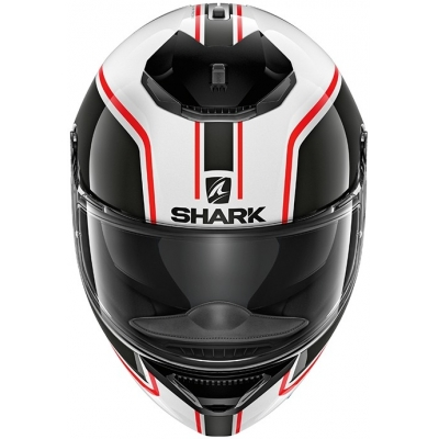 SHARK SPARTAN Priona white/red/black