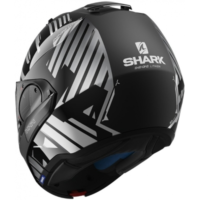 SHARK přilba EVO-ONE 2 Lithion black/chrome/anthracite